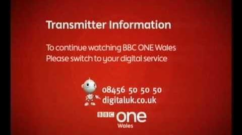 BBC One Wales Analogue Shutdown