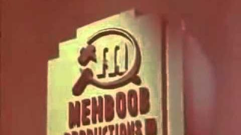 Mehboob Productions Logo