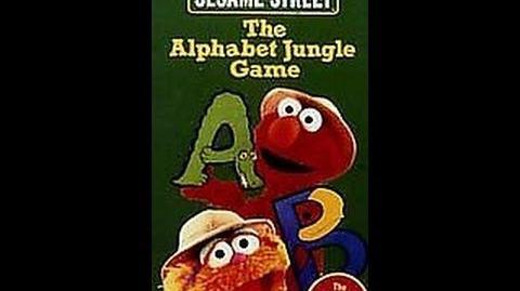 Closing To Sesame Street-The Alphabet Jungle Game 1998 VHS