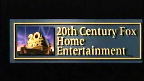 20th Century Fox Home Entertainment Logo 1995-2008