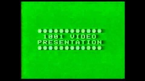 VHS Companies From the 80's 11 - 1001 VIDEO