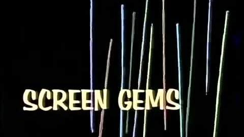 Dancing Sticks (Screen Gems logo – 1964)
