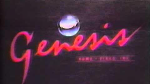 Genesis Home Video logo