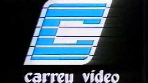VHS Companies from the 80's -306 CARREY VIDEO