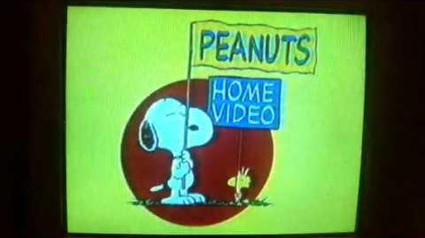 Peanuts Home Video
