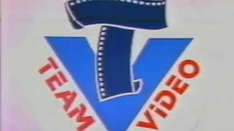 Team Video - logo, 1986