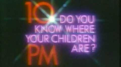 It's 10 PM...do you know where your children are?