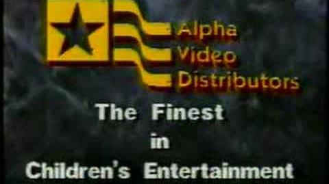 Alpha Video Distributors logo