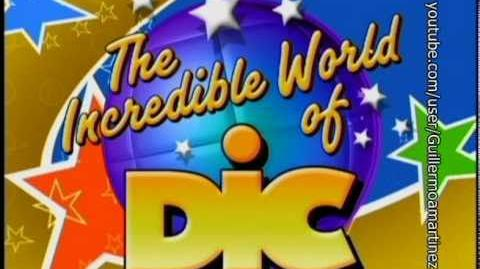 Especiales- Logo de DIC (The Incredible World of DIC!) (2002) (DVD, 2002) 4-3