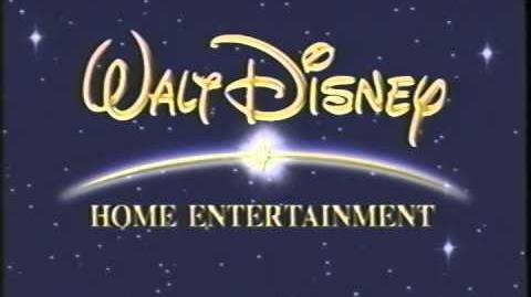 Walt Disney Home Entertainment (2001) Logo