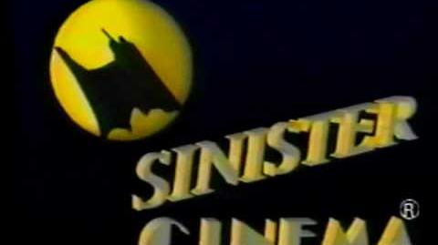Sinister Cinema Video Opening