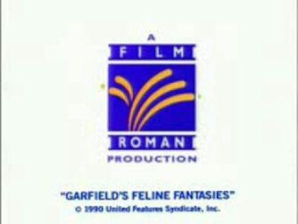 Film Roman logo 1990 - Garfield's Feline Fantasies Variant