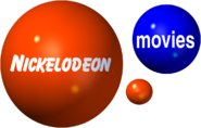 NICKELODEON MOVIES 2000 3D LOGO