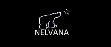 NELVANA POLOR BEAR LOGO blue