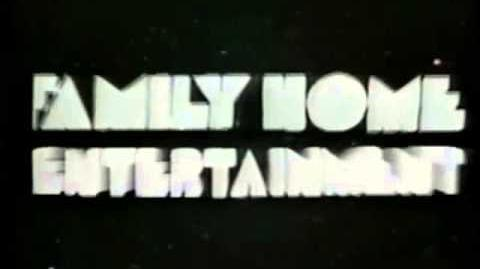 Family Home Entertainment Logo 1981-1985, 1987 Short Version -2