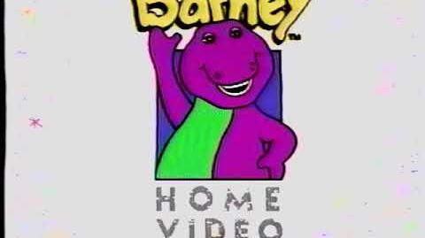 Barney Home Video Logo 1992 - 1995 (60fps) (Better Quality)