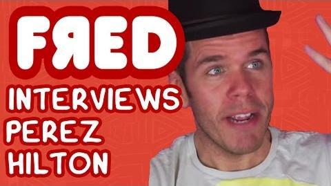 Fred Interviews Perez Hilton - Figgle Chat