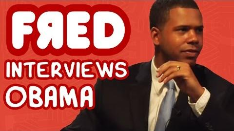 Fred Interviews Obama - Figgle Chat