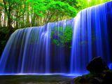 Синий водопад