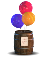 Balloon Barrel (Minijuego) - Barril 1 (FFPS)