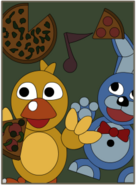 Chica & Bonnie Poster