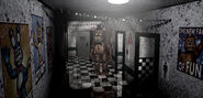 FNaF 2 - Main Hall (Freddy)