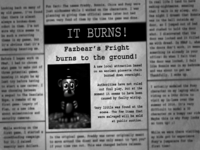 FNaF3 - 6ta Noche (Periódico)