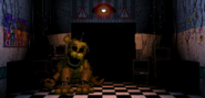 FNaF2 - Office (Golden Freddy)