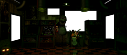 UNC FNAF3 Office Light
