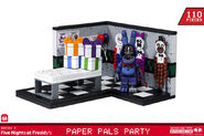 Fnaf3 PAPER PALS PARTY OutOfPackage