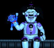 Funtime Freddy con cara de khé.
