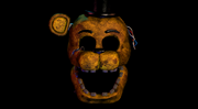 Golden Freddy DeathScreen UCN