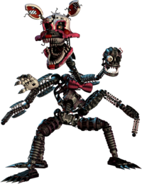 FNaF4 - Extra (Nightmare Mangle)