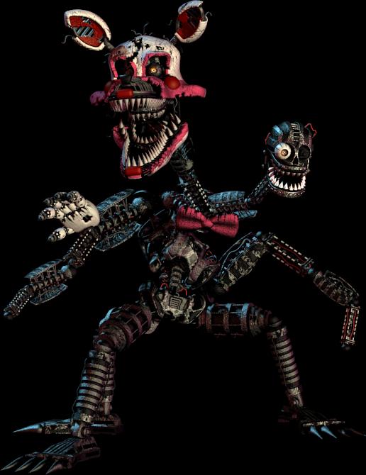 Nightmare Mangle Wiki Freddy