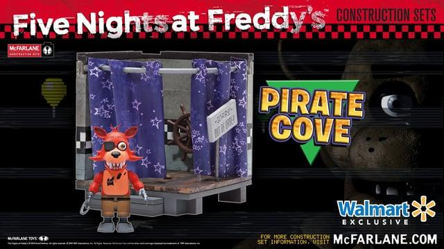 Five Nights at Freddy's Pirate Cove Construction Set from McFarlane Toys