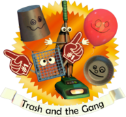 Trash and the Gang (Menu)
