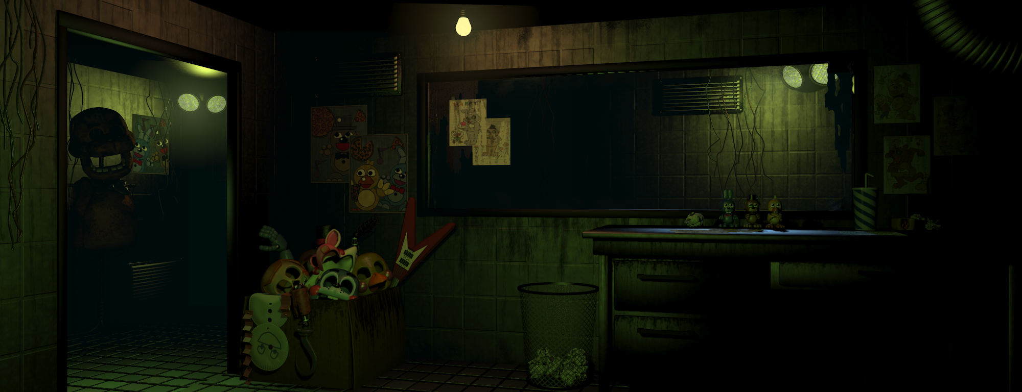 Image Fnaf3 Office Png Five Nights At Freddy S Wiki