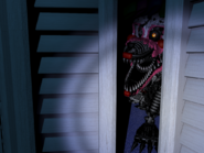 FNaF4 - Armario (Nightmare Mangle - 3ra posición)