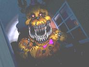 FNaF4 - Pasillo Derecho (Nightmare Fredbear - Cerca, iluminado)