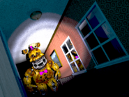 Fredbear righthall far brightened