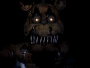 Nightmare freddy drugi jumpscare 9