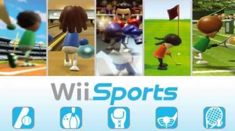 Wii Sports - Music - Training Game Mode Select