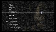 FNaFMenu 2da Estrella