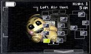 FNaF 2 (Móvil) - Left Air Vent (Toy Chica)