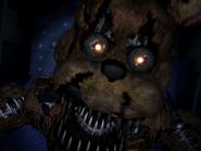Nightmare freddy pierwszy jumpscare 24