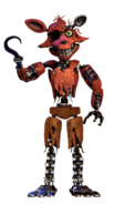 Withered Foxy full body thank you image