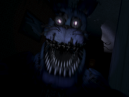 Nightmare bonnie pierwszy jumpscare 4