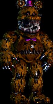 FNaF4 - Extra (Nightmare Fredbear)