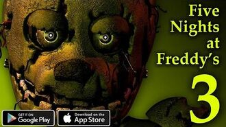Five Nights at Freddy's 3 Remaster - Mobile
