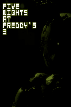 FNaF 3 Xbox